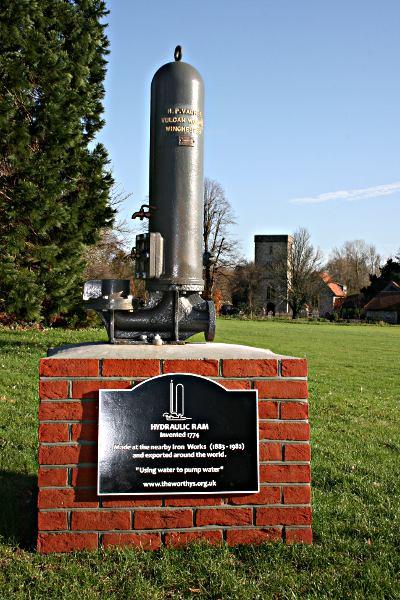 hydraulic ram memorial