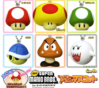 Disney Anime Toys Dat Nintendo Super Mario Brown Mushroom Gashapon