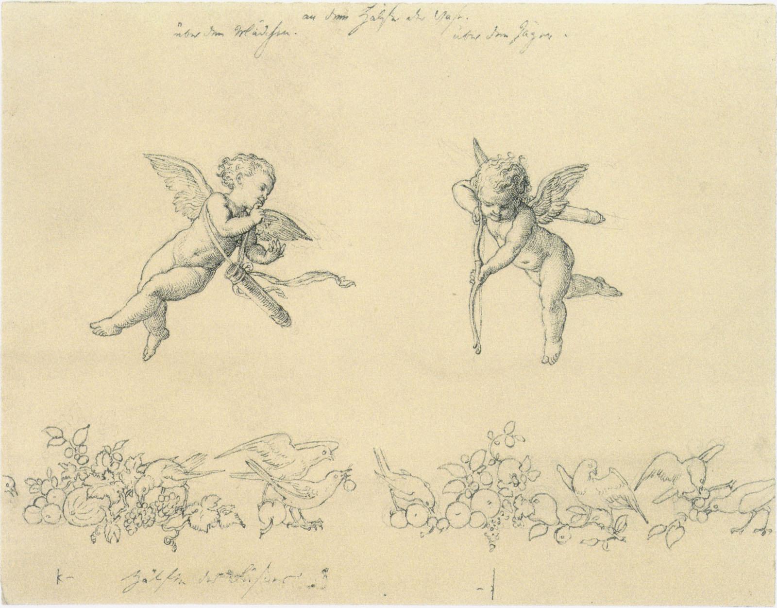 Julius Schnorr Von Carolsfeld Drawings by Julius Schnorr Von