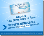 Buy 1 Day Acuvue Oasys with Hydraclear contact lens Here