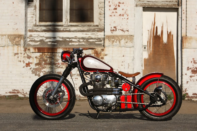 XS650 Bobber Modification