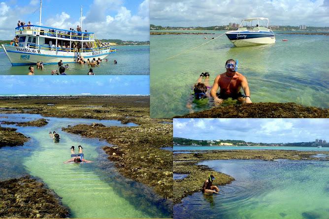 Paseo de Barco y Snorkell en Pirangy