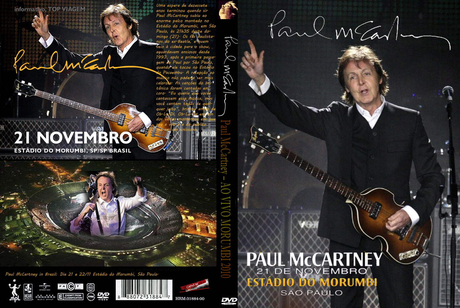 Show Paul McCartney No Brasil 2010 Paul McCartney  25E2 2580 2593 AO VIVO MORUMBI 2010