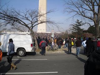 obama inauguration monument
