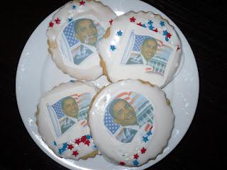 obama inauguration cookies
