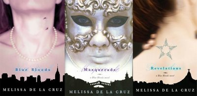 Blue Blood Series 1-6 + Novellas - Melissa de la Cruz