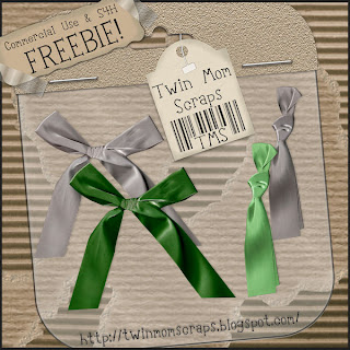 2 Greyscale Bows - By: Twin Mom Scraps TMSSilkBowFREEBIE2