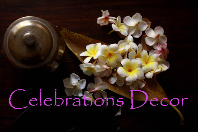 Celebrations Decor - An Indian Decor blog