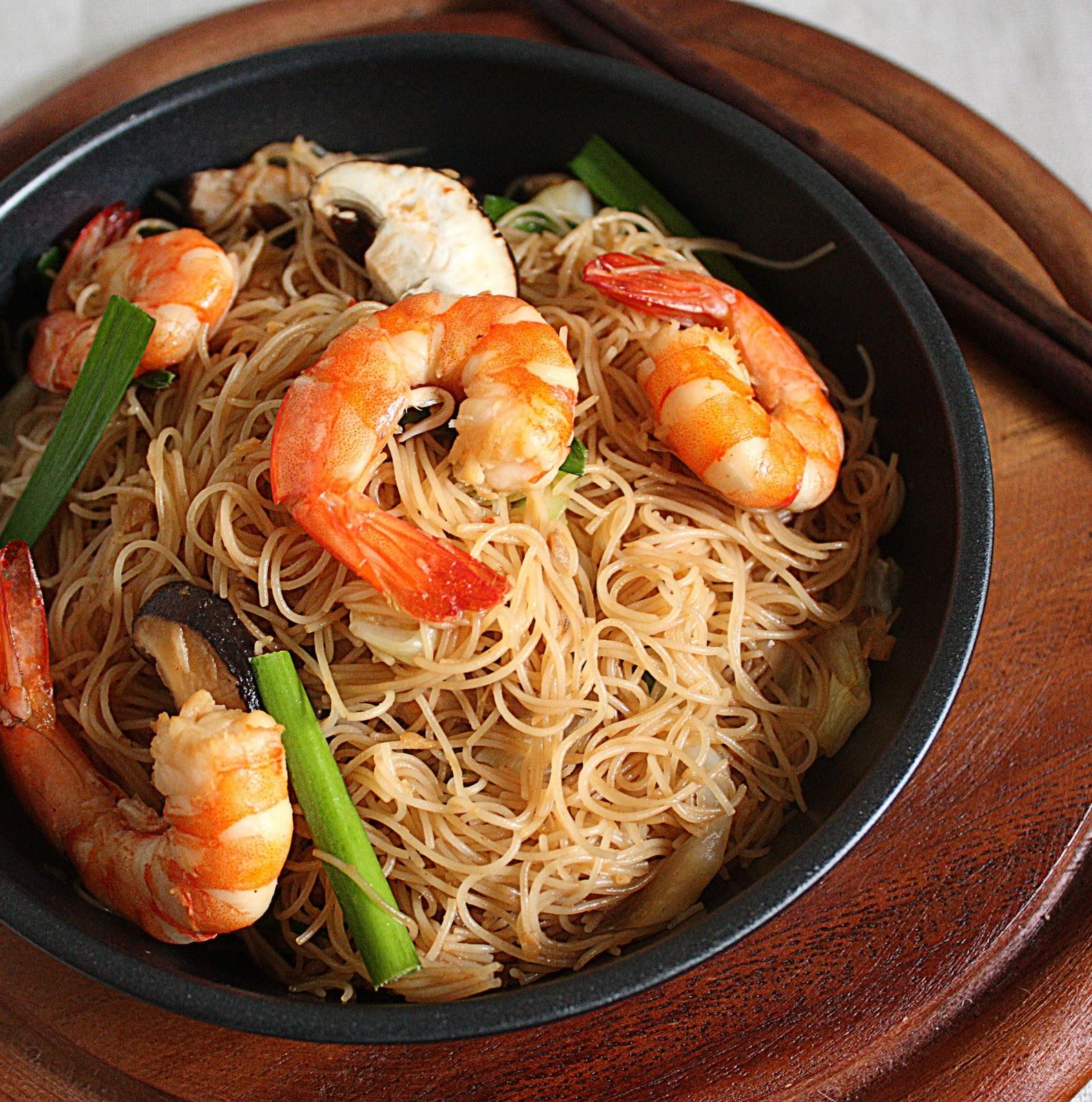 Resepi Mee Hoon Goreng Putih Noodles Mee Hoon Goreng