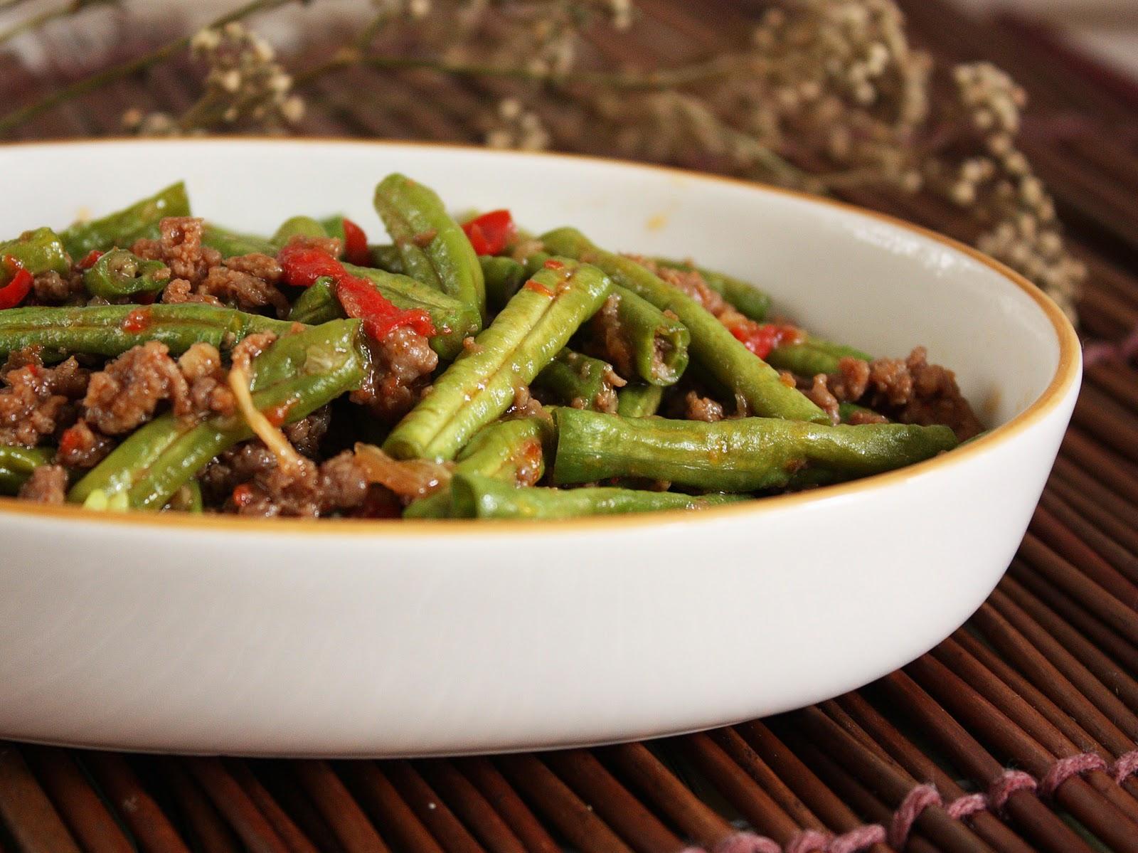 Стручковая фасоль с мясом Блюда по-домашнему с фото по шагам рецепта 73