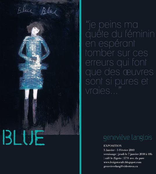 Blue par Genevève Langlois