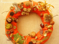 Faire une couronne d'automne
