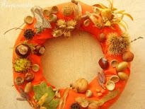 Faire une couronne d'automne