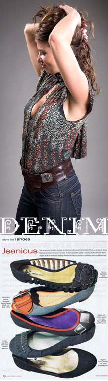 Wear it with confidence - Denim!