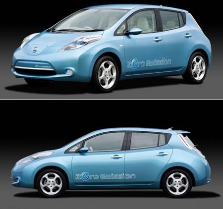 Nissan Leaf ini Harga & Spesifikasi di Indonesia Terbaru 2012