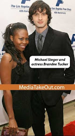 Actor Michael Steger and fiance Brandee