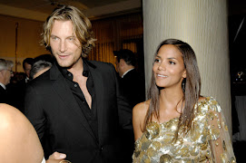Beautiful Halle with her beautiful man...