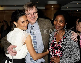 thandie and her mom and dad...