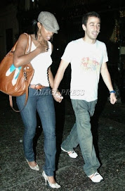 Kelly Rowland (destiny's child) and her new man....