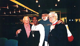 Roger Ebert with wife and friends...