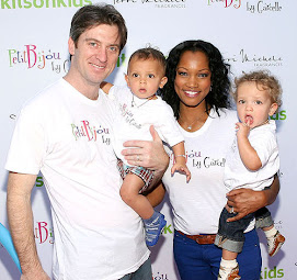 Beautiful Garcelle and the family...