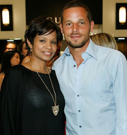 Justin Chambers and wife Keasha