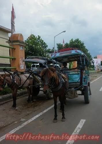 Cidomo, Transportasi Khas Lombok ~ JALAN JALAN MAKAN MAKAN