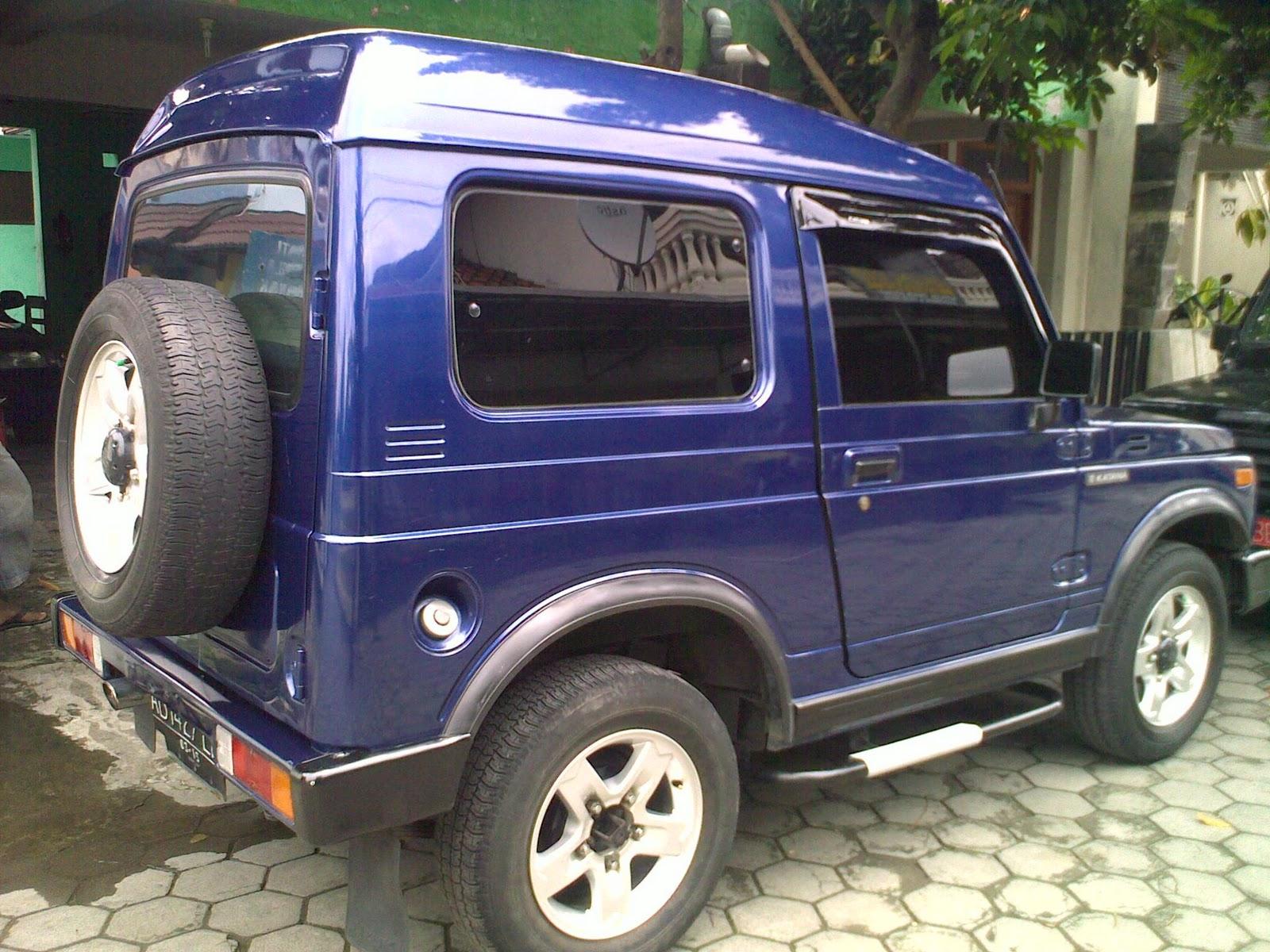mobil bekas jogja: katana GX th95