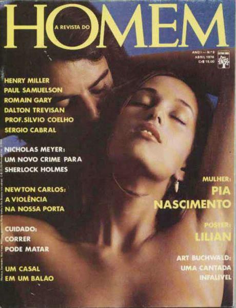 Pia Nascimento nua na Playboy 1976