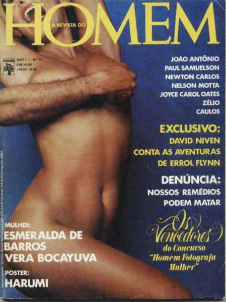 Esmeralda de Barros nua na Playboy 1976