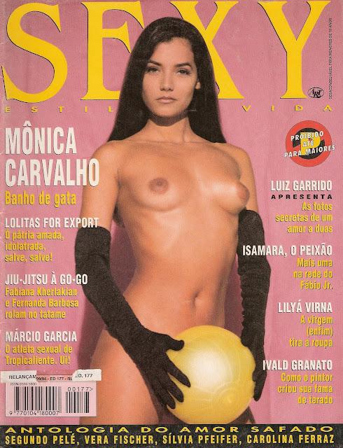 Monica Carvalho na Sexy