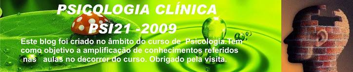 Psicologia Clínica Psi 21