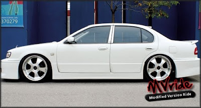 MVRides - Modified Version Rides - Modified Cars: Nissan Cefiro A33 ...