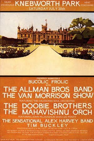 Knebworth, July 1974 - Allman Bros / Doobie Bros / Van Morrison / Alex Harvey: great line-up & show