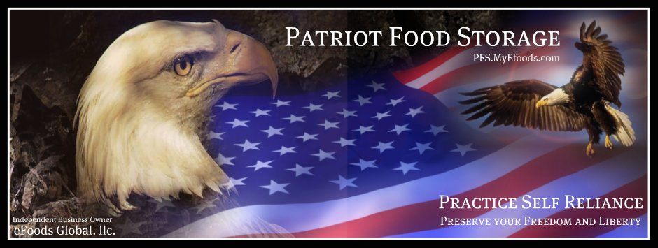 Patriot Food Storage, Emergency Food for Long Term Storage, Emergency Food Storage MLM