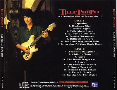 Deep purple lost milan tape 1993