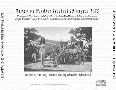 Hawkwind The Text Of Festival Hawkwind Live 1970 72