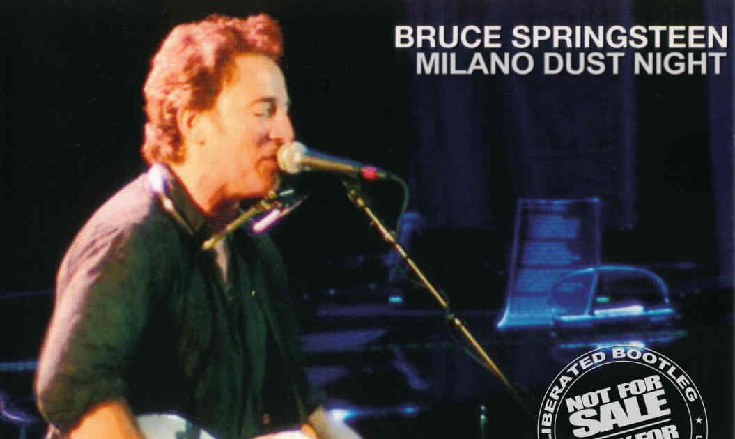 Bruce Springsteen Milano Session Night