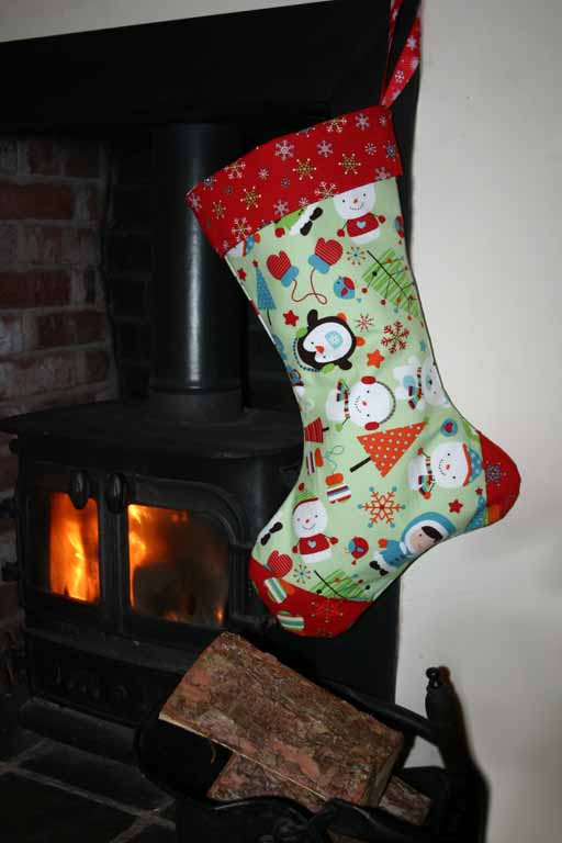 Seamzine: Season No 1. Free Sewing Pattern - Christmas Stocking