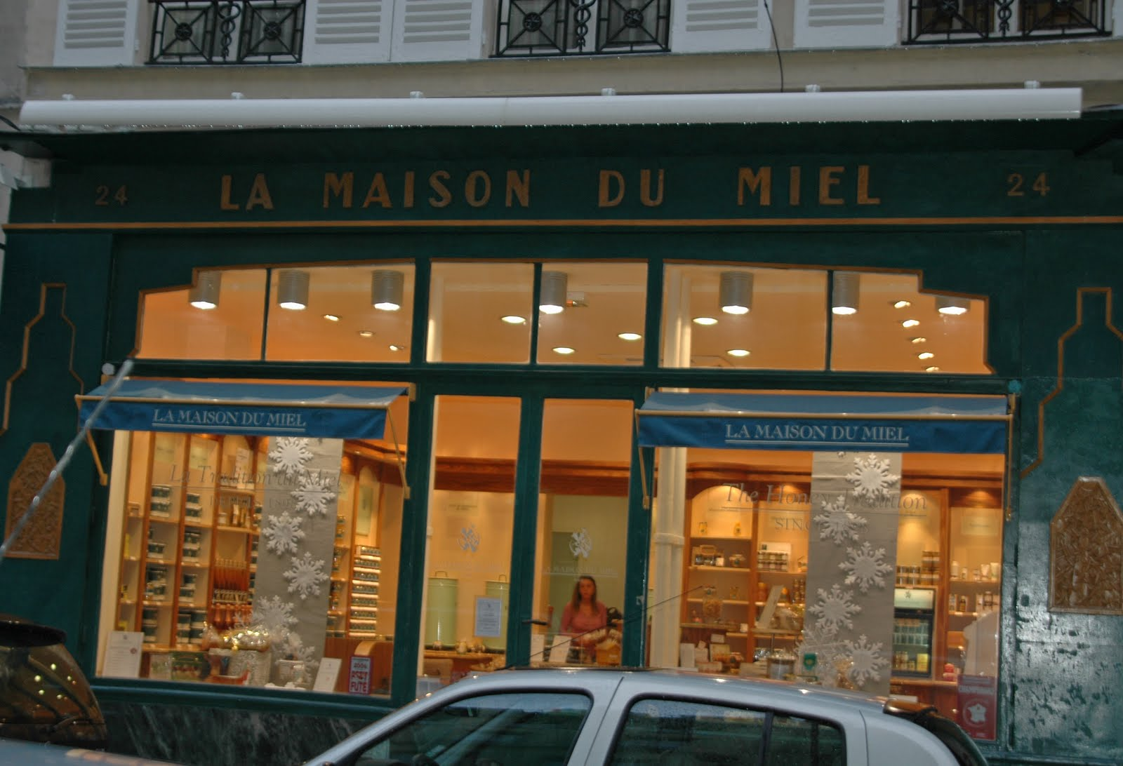 Paris and beyond la maison du miel for Maison paris