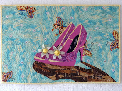 I wish quilt with vlisofix applique by Ayala Levinger