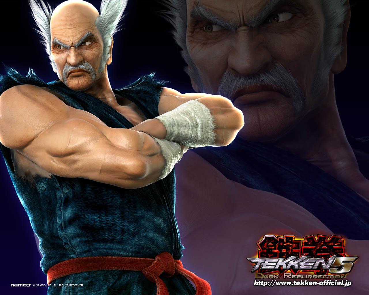 Tekkenbase Why Kazuya Hates His Father Heihachi Mishima
