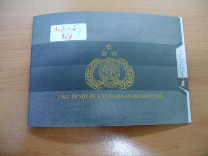 Info Seputar Biro Jasa PAS: BPKB Model Terbaru