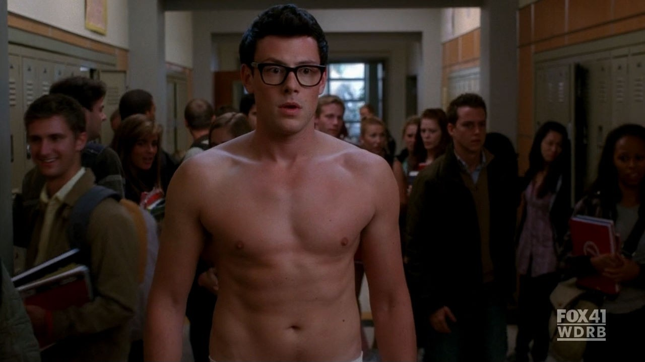 cory monteith corys body abs appreciation 1 because