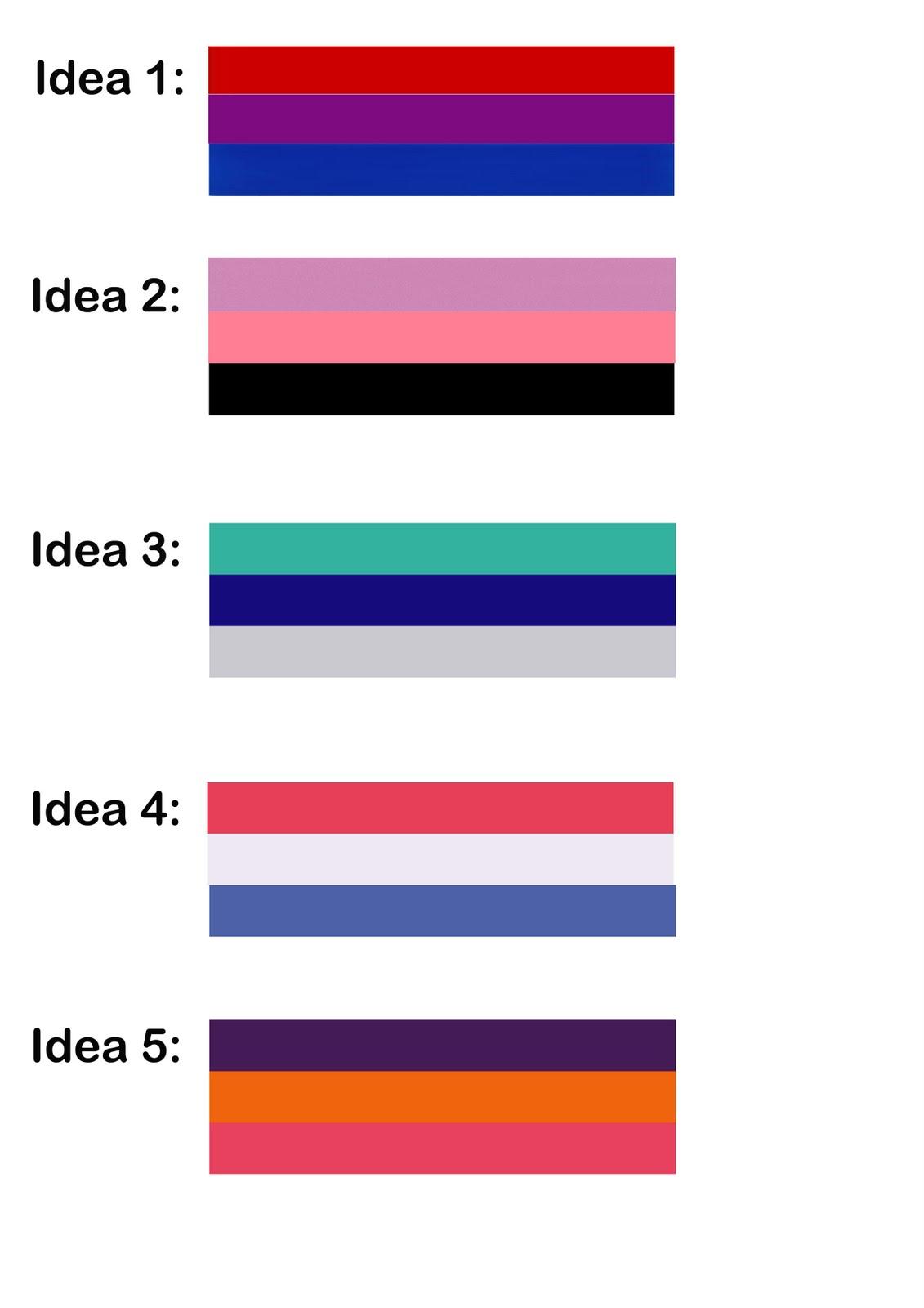 Colour Scheme Idea Analysis