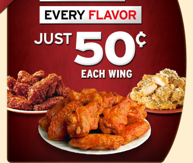 With this Pizza Hut promo code, get any pizza for $10 for a limited time. 60¢ Wing Wednesdays. Valid at select locations on select wing counts only. Get wings for $ each at Pizza Hut /5(13).