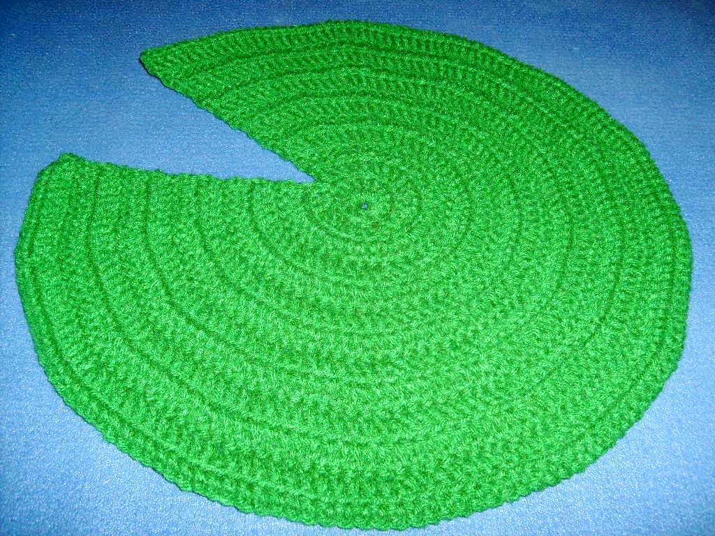 green broke amp living in kits lily pad easy crochet pattern