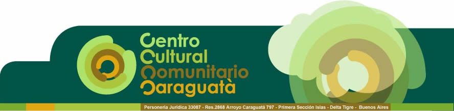 Centro Cultural Comunitario y Biblioteca Popular Caraguatá ONG
