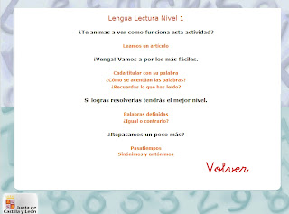 Ir a: 10-12 años Lengua Lectura
