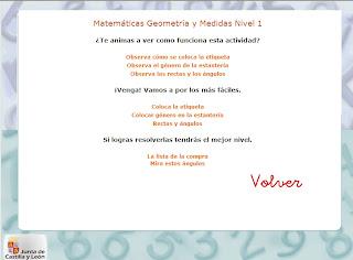 Ir a: 8-10 años Matemáticas Geometría y Medidas